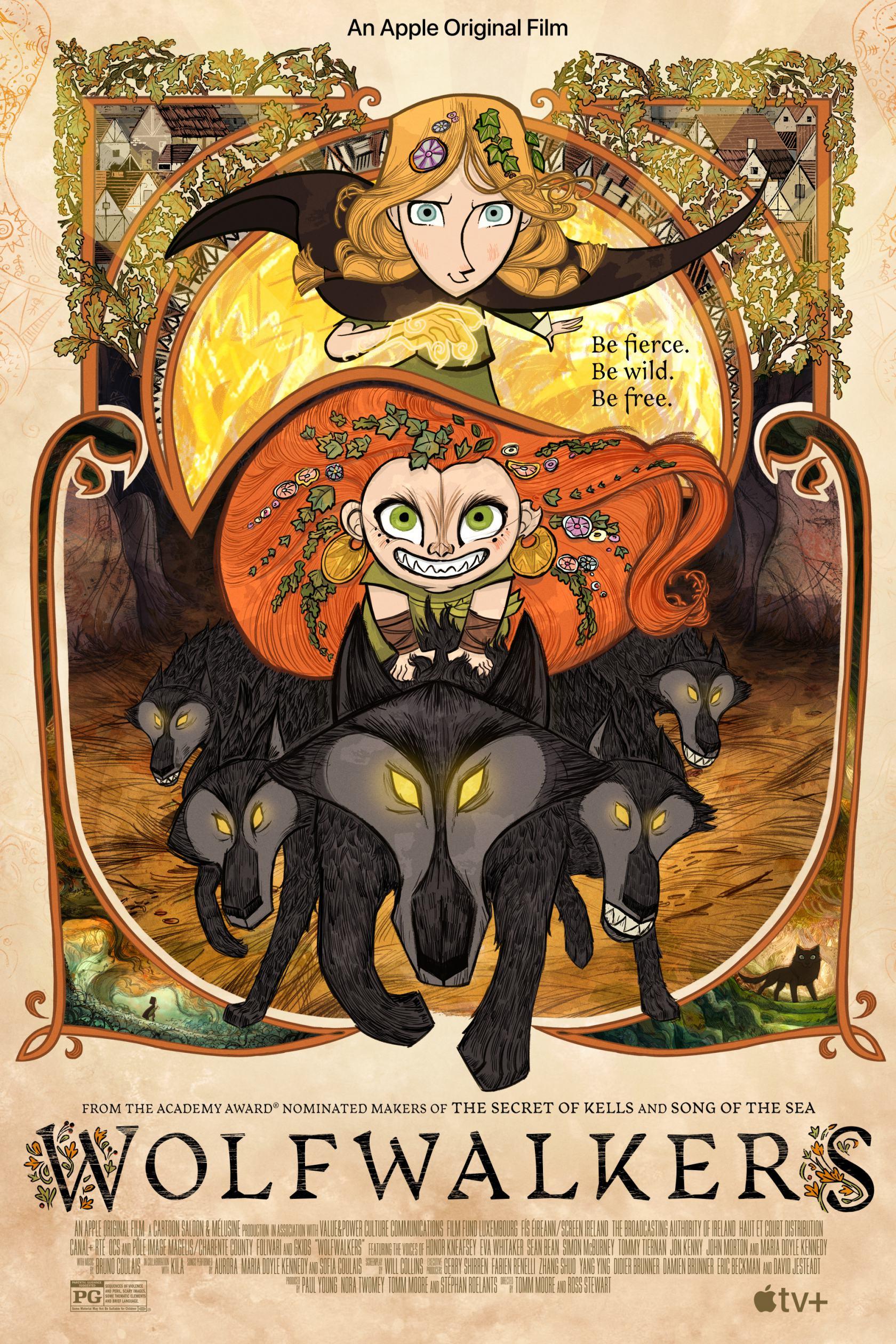 Wolfwalkers Poster #1