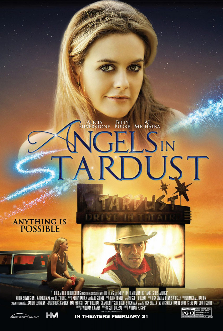 Angels in Stardust Poster #1