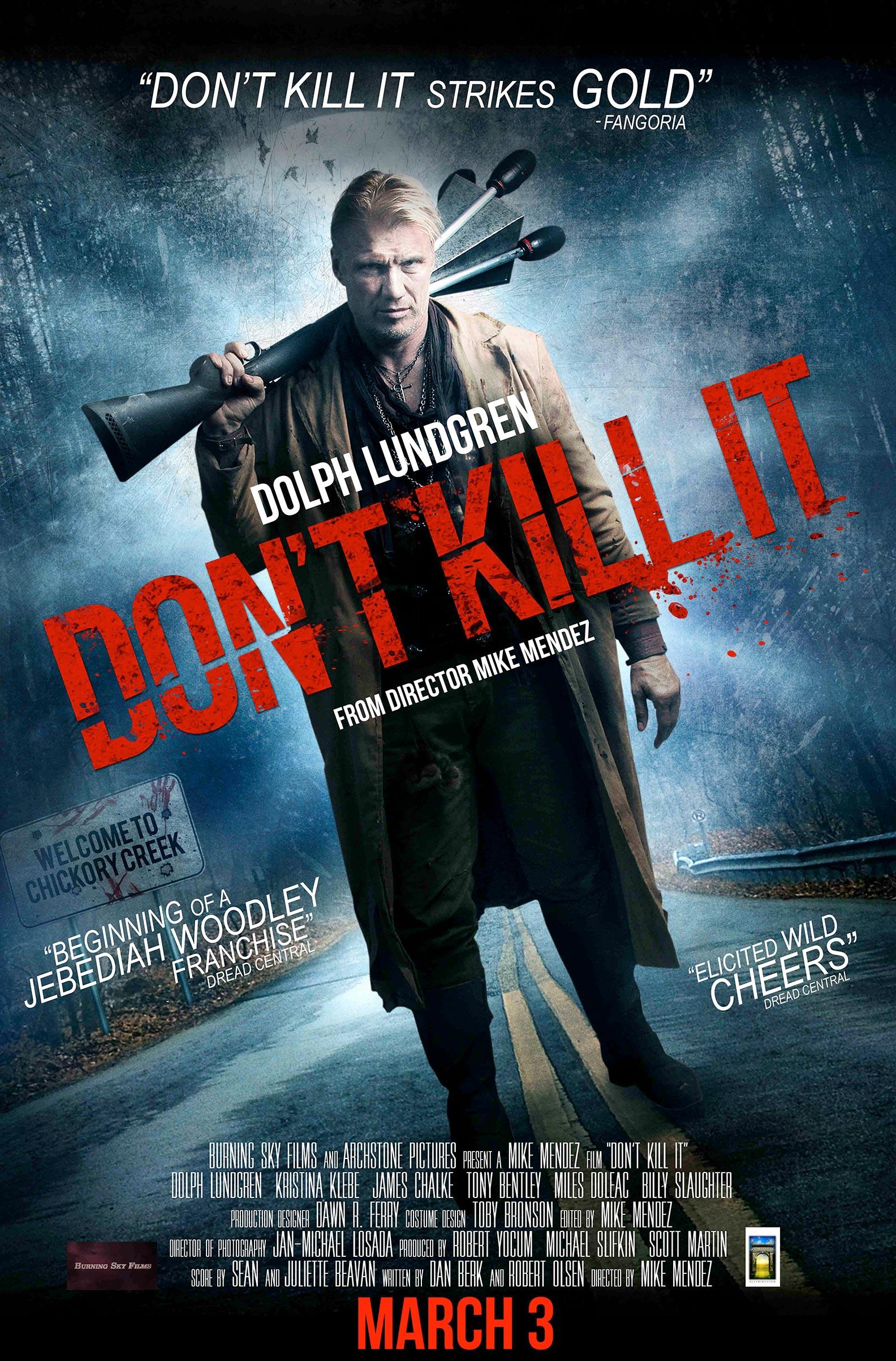 Don't Kill It Poster #1