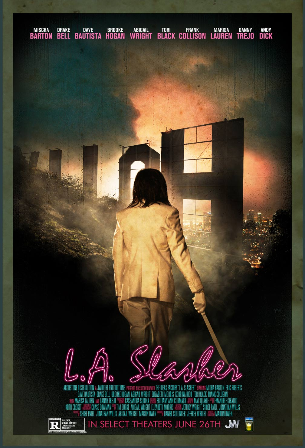 L.A. Slasher Poster #2