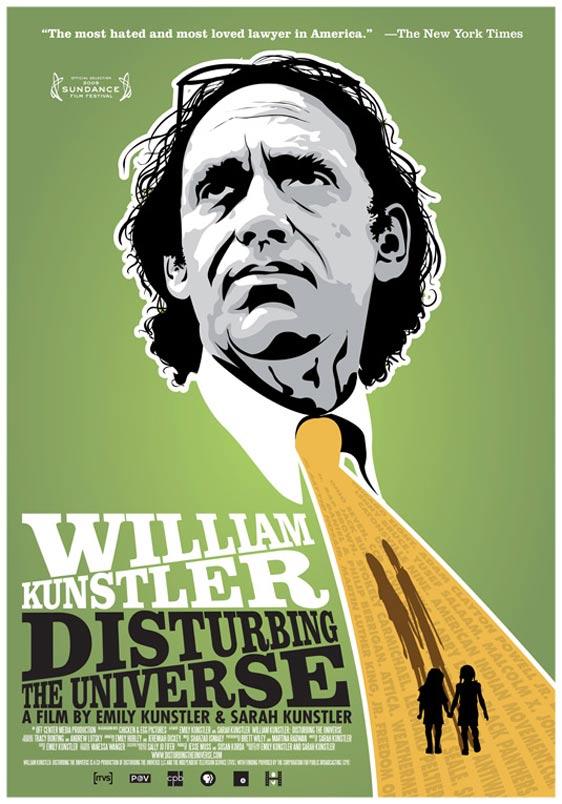 William Kunstler: Disturbing the Universe Poster #1