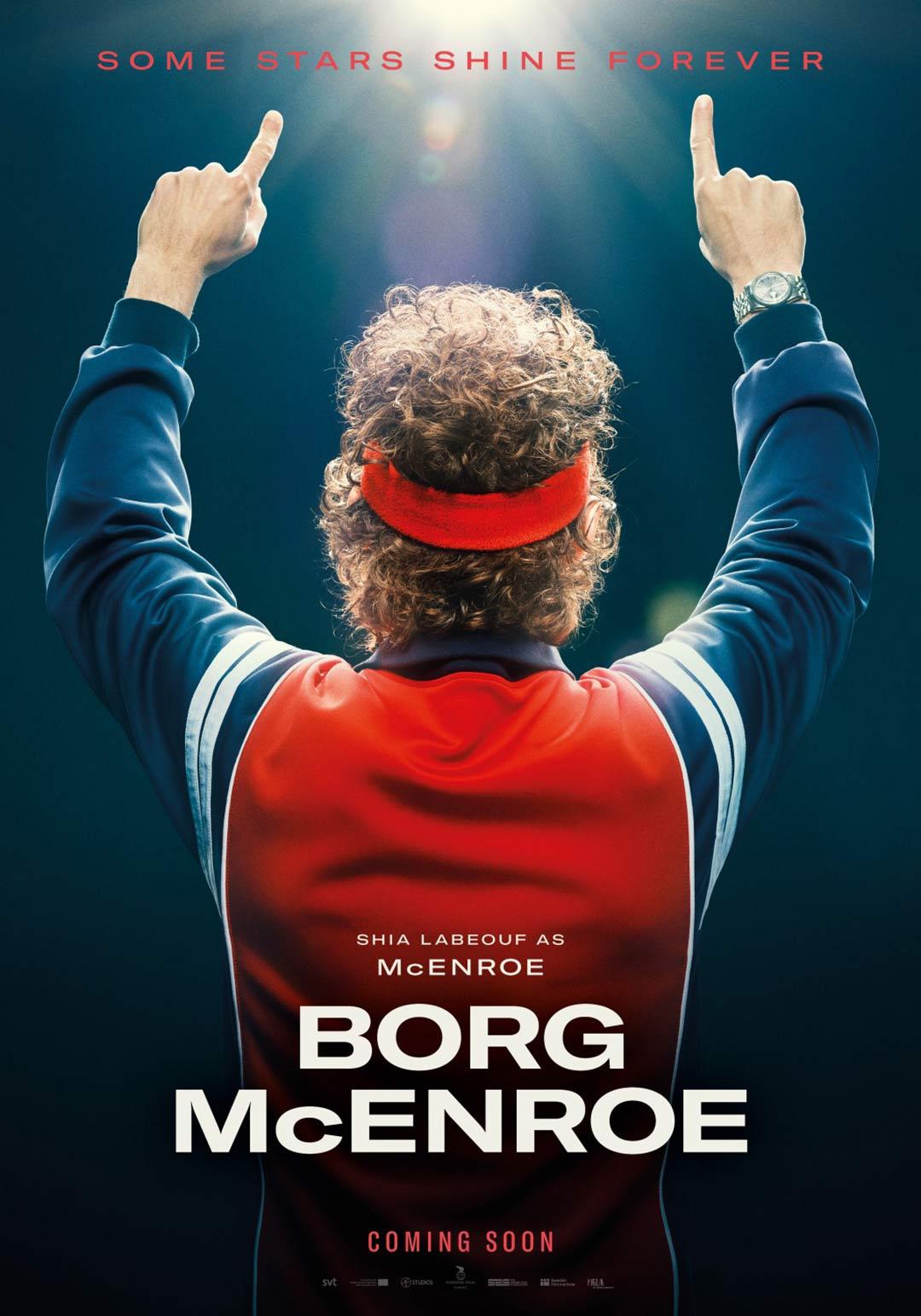 Borg/McEnroe Poster #2