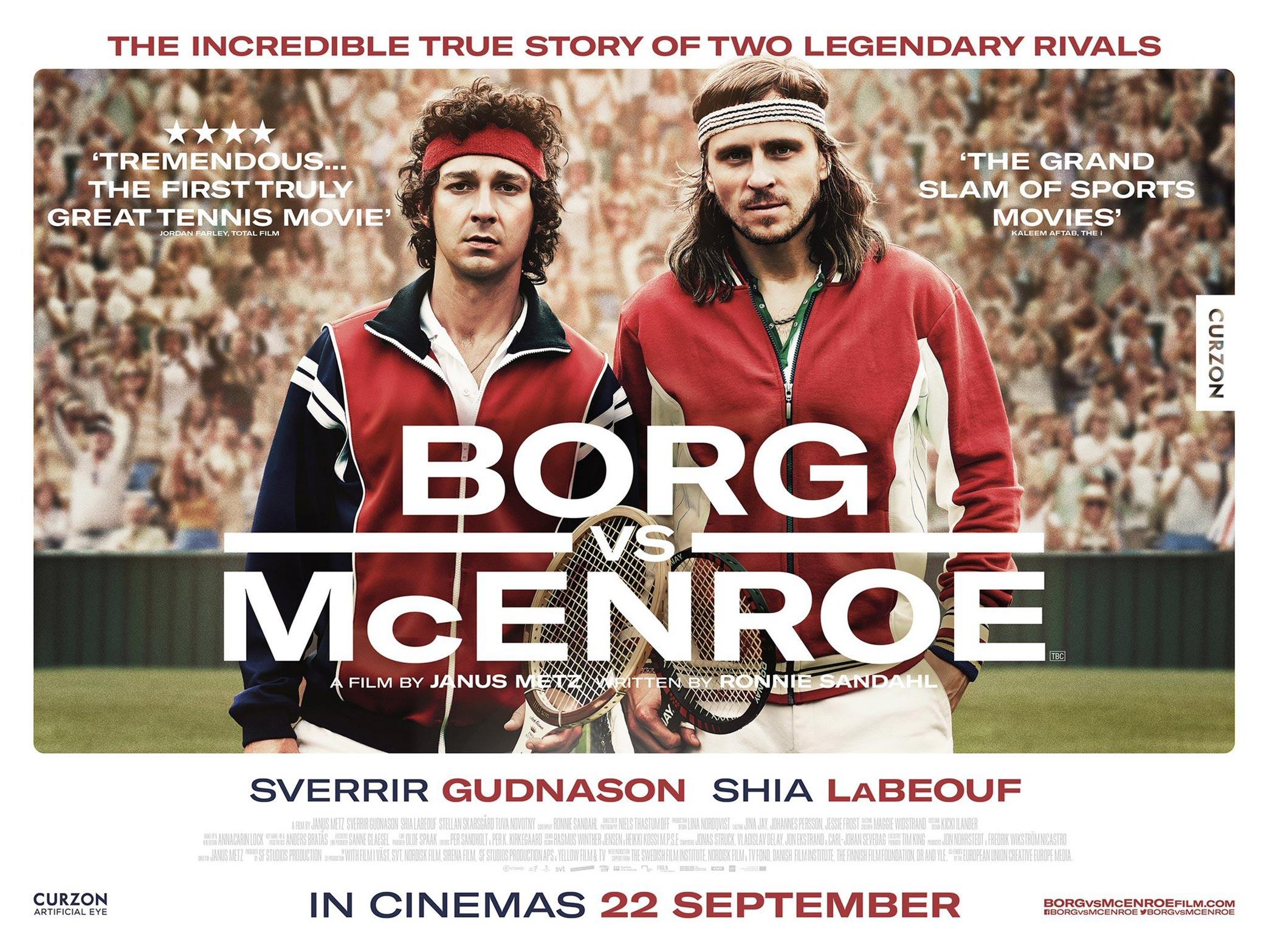 Borg/McEnroe Poster #3