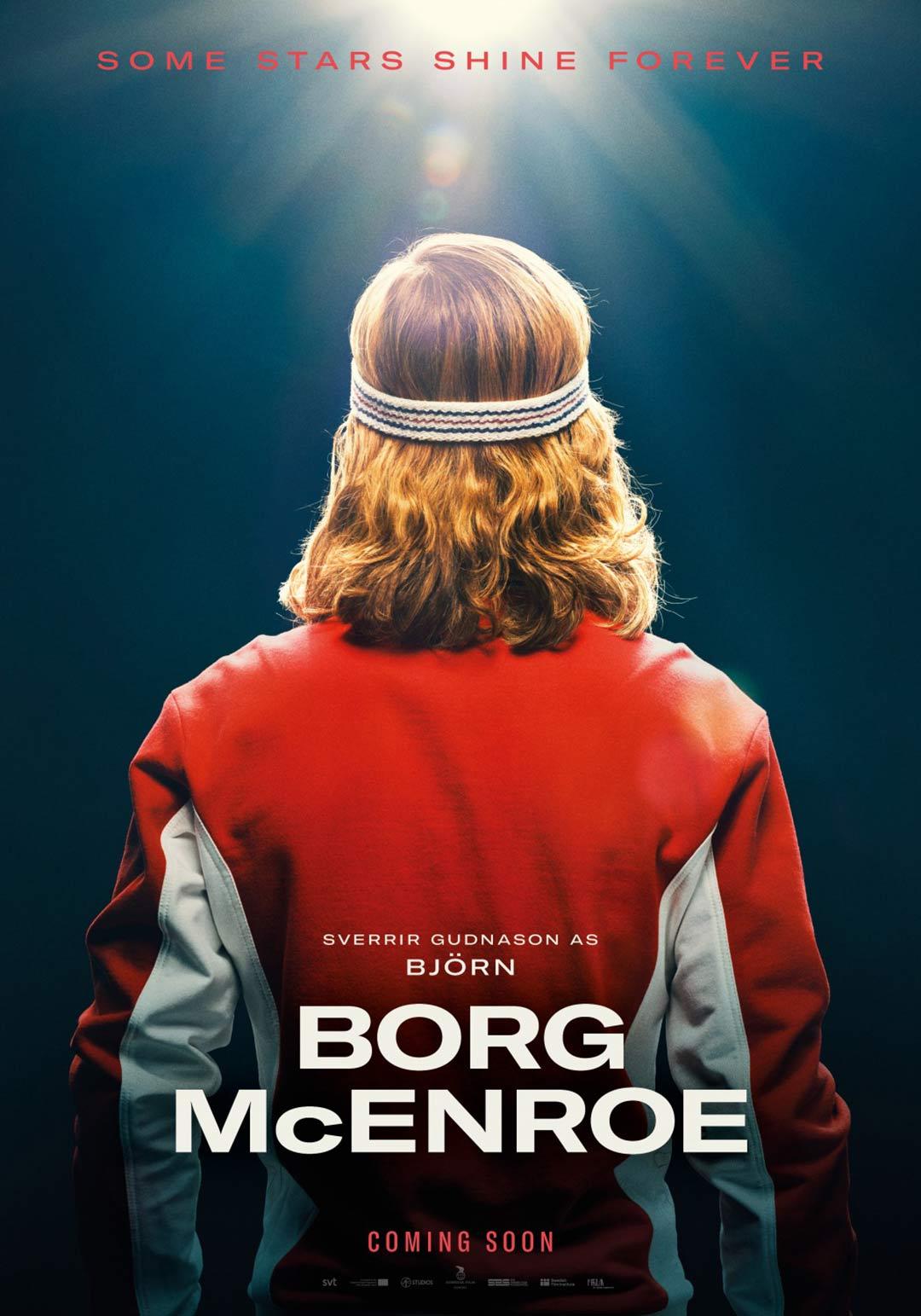 Borg/McEnroe Poster #1