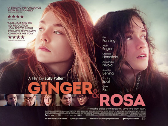 Ginger and Rosa Poster #1