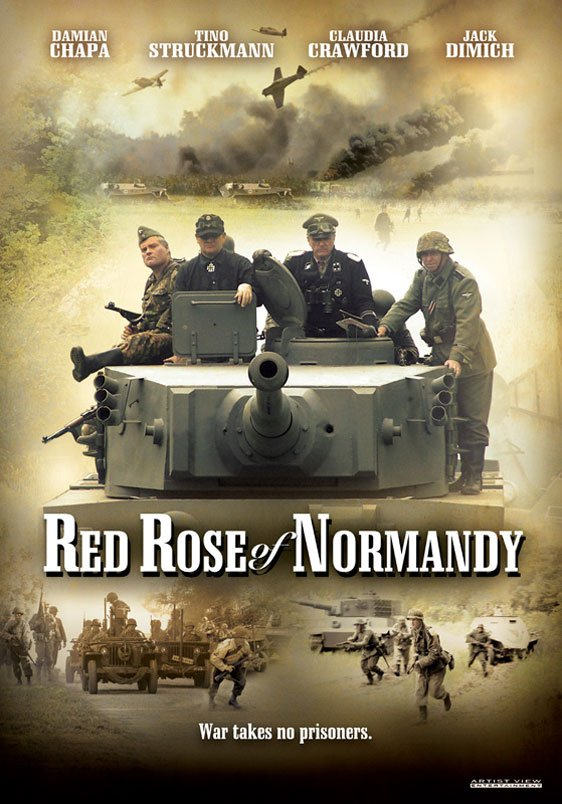 Red Rose of Normandy Poster #1