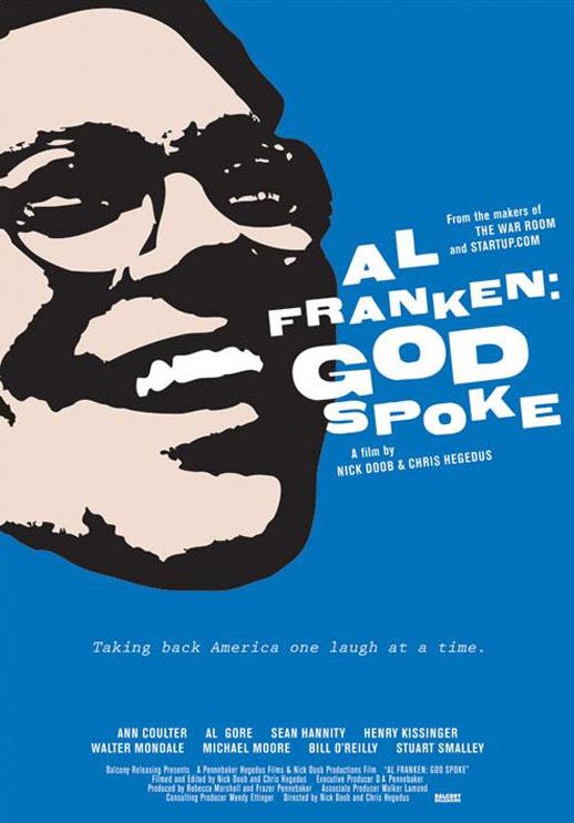Al Franken: God Spoke Poster #1