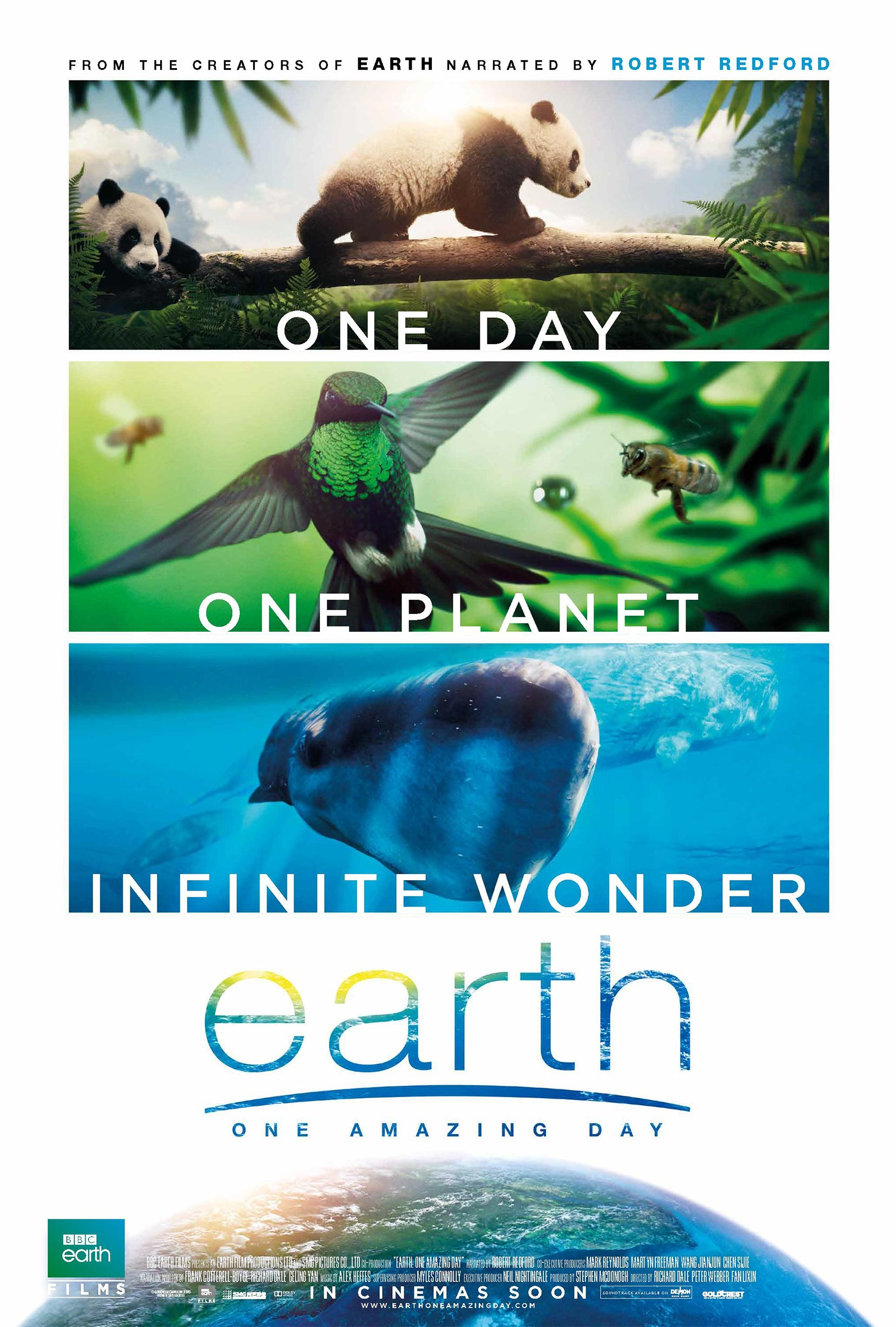 Earth: One Amazing Day Poster #1