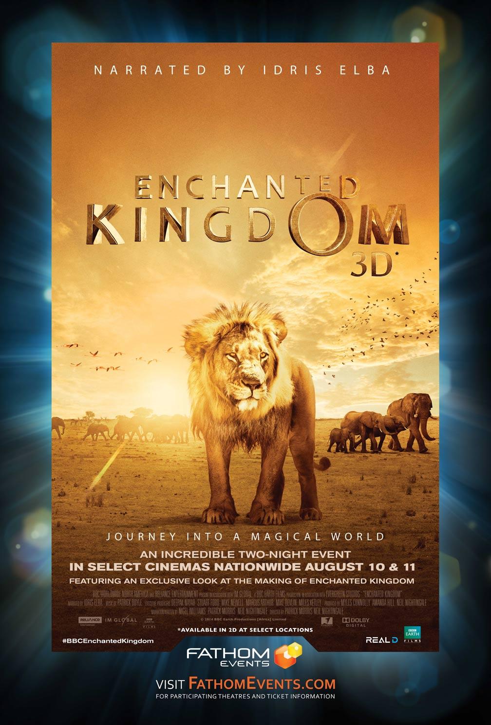 Enchanted Kingdom 3D Poster #1