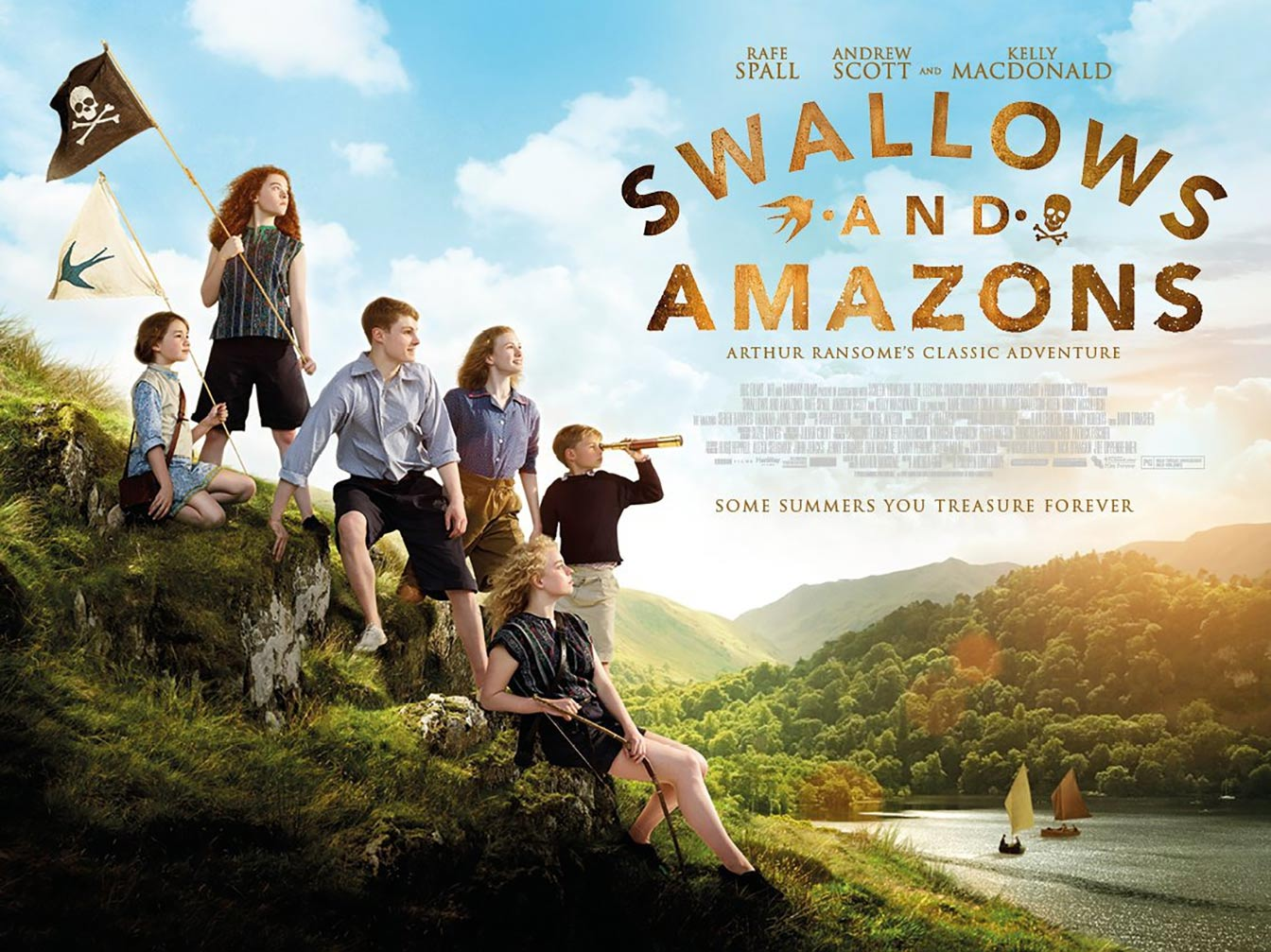 Swallows and Amazons Poster #2