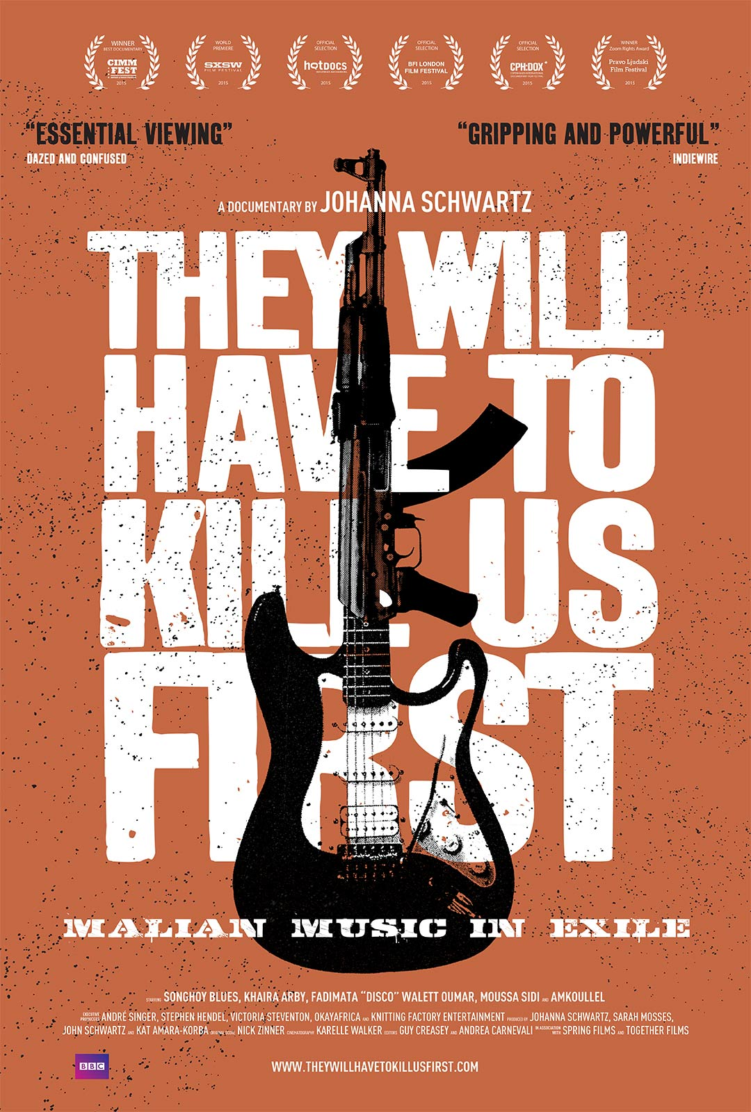 They Will Have to Kill Us First Poster #1