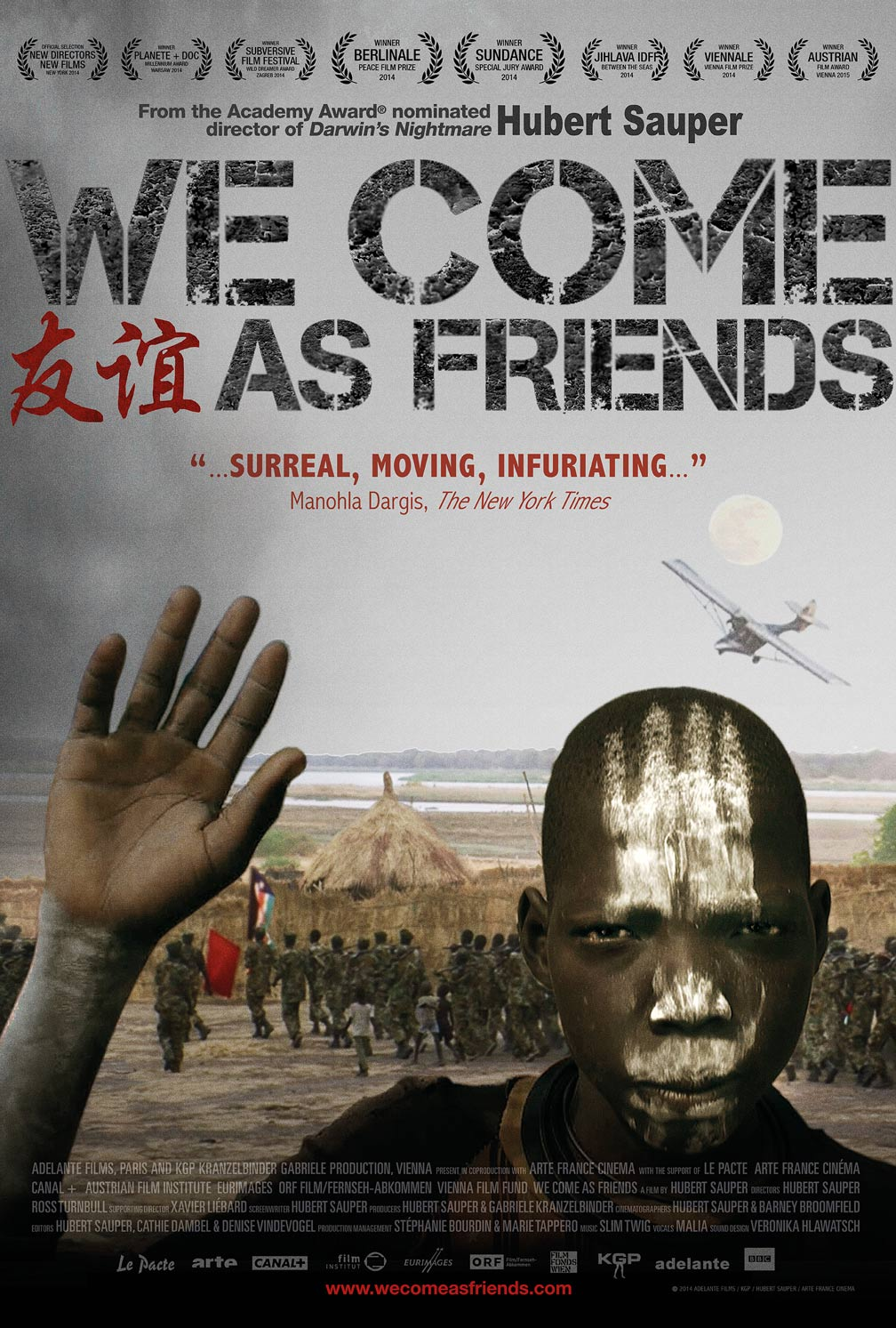 We Come as Friends Poster #1