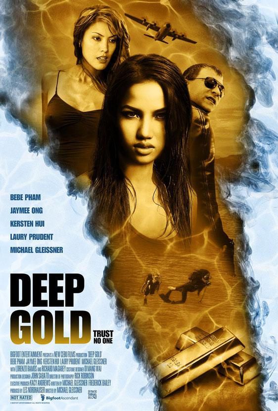 Deep Gold Poster #2