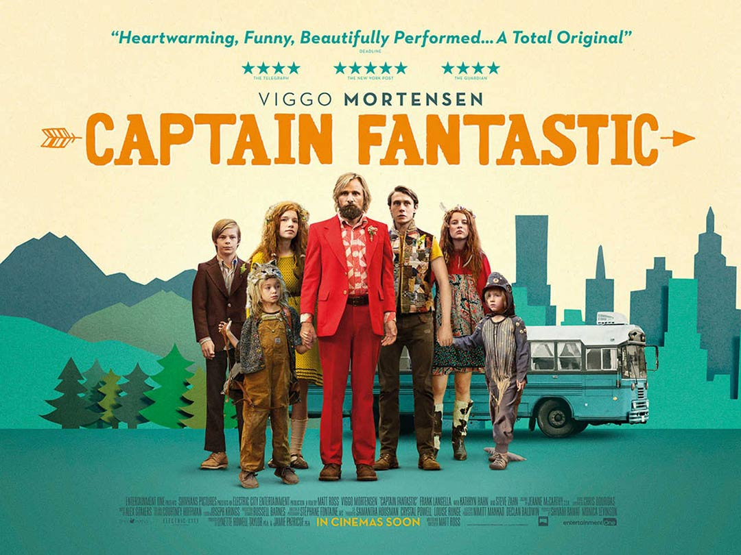 Captain Fantastic (2016) Poster #2 - Trailer Addict