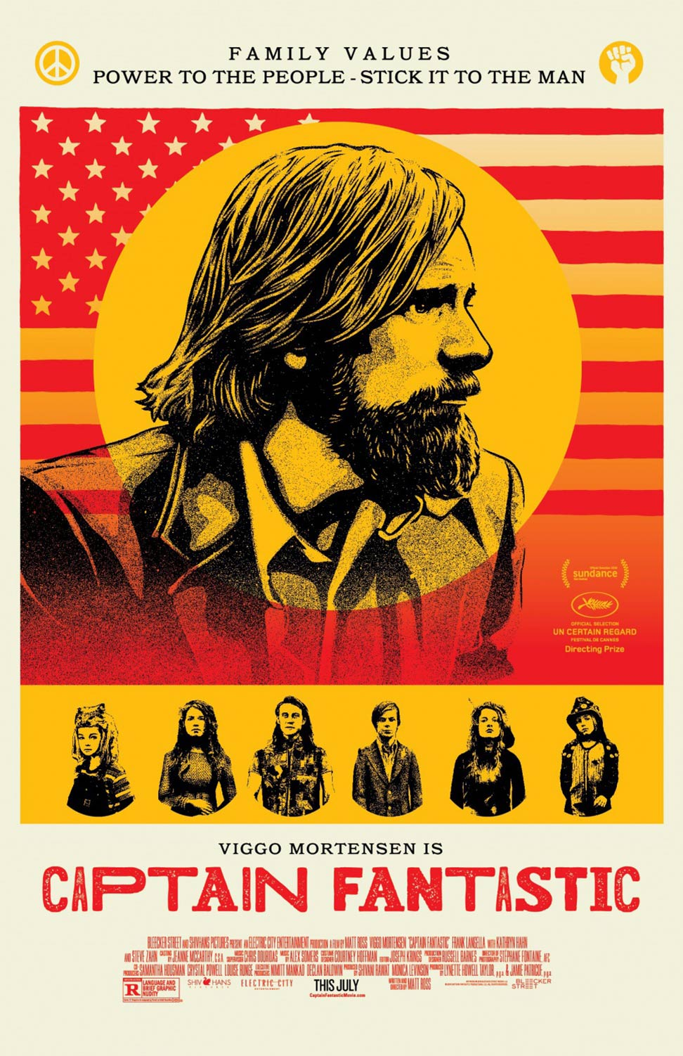 Captain Fantastic Poster #3