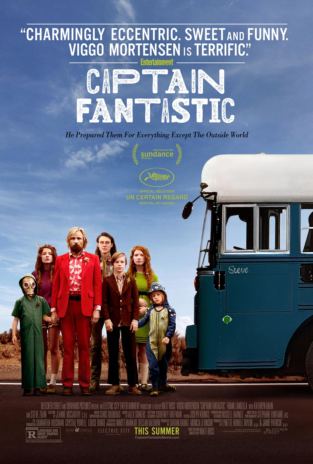 Captain Fantastic Poster #1