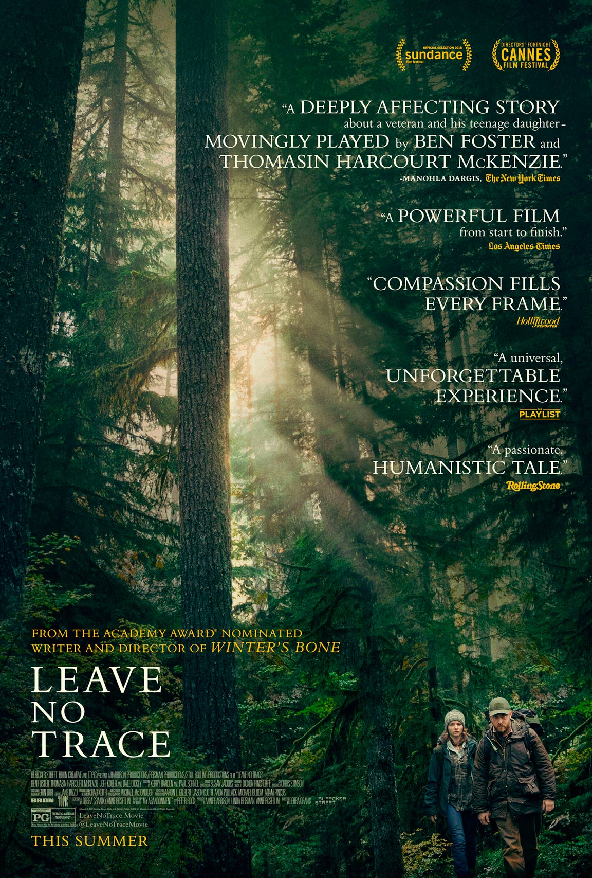 Leave No Trace Poster #1