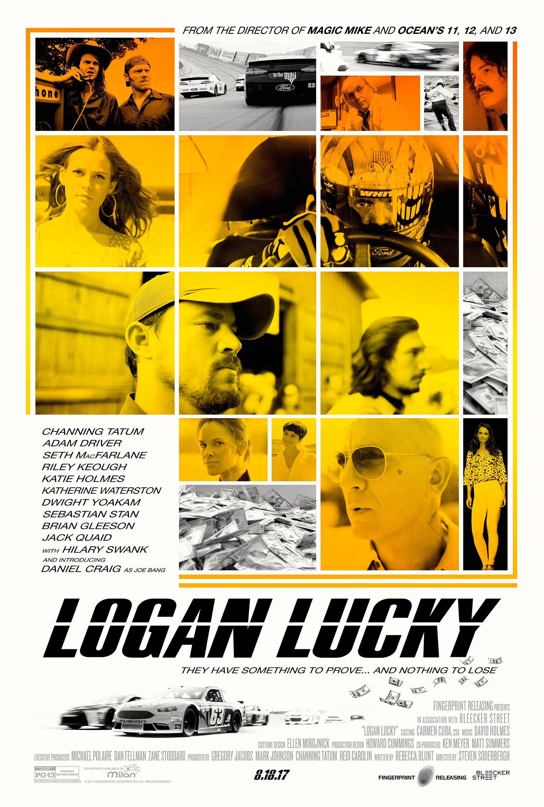 「logan lucky poster」の画像検索結果