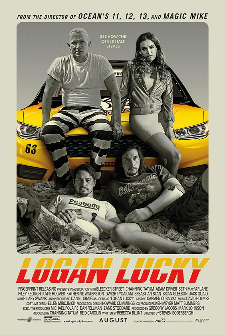 Logan Lucky Poster #1