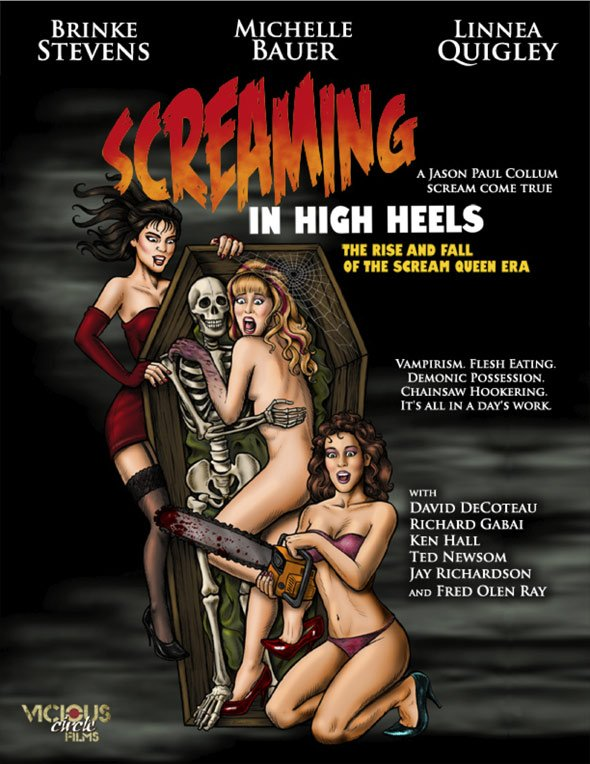 Screaming in High Heels: The Rise & Fall of the Scream Queen Era Poster #1