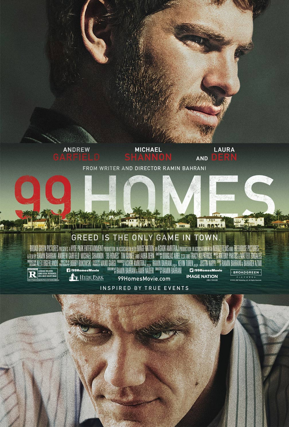 99 Homes Poster #1