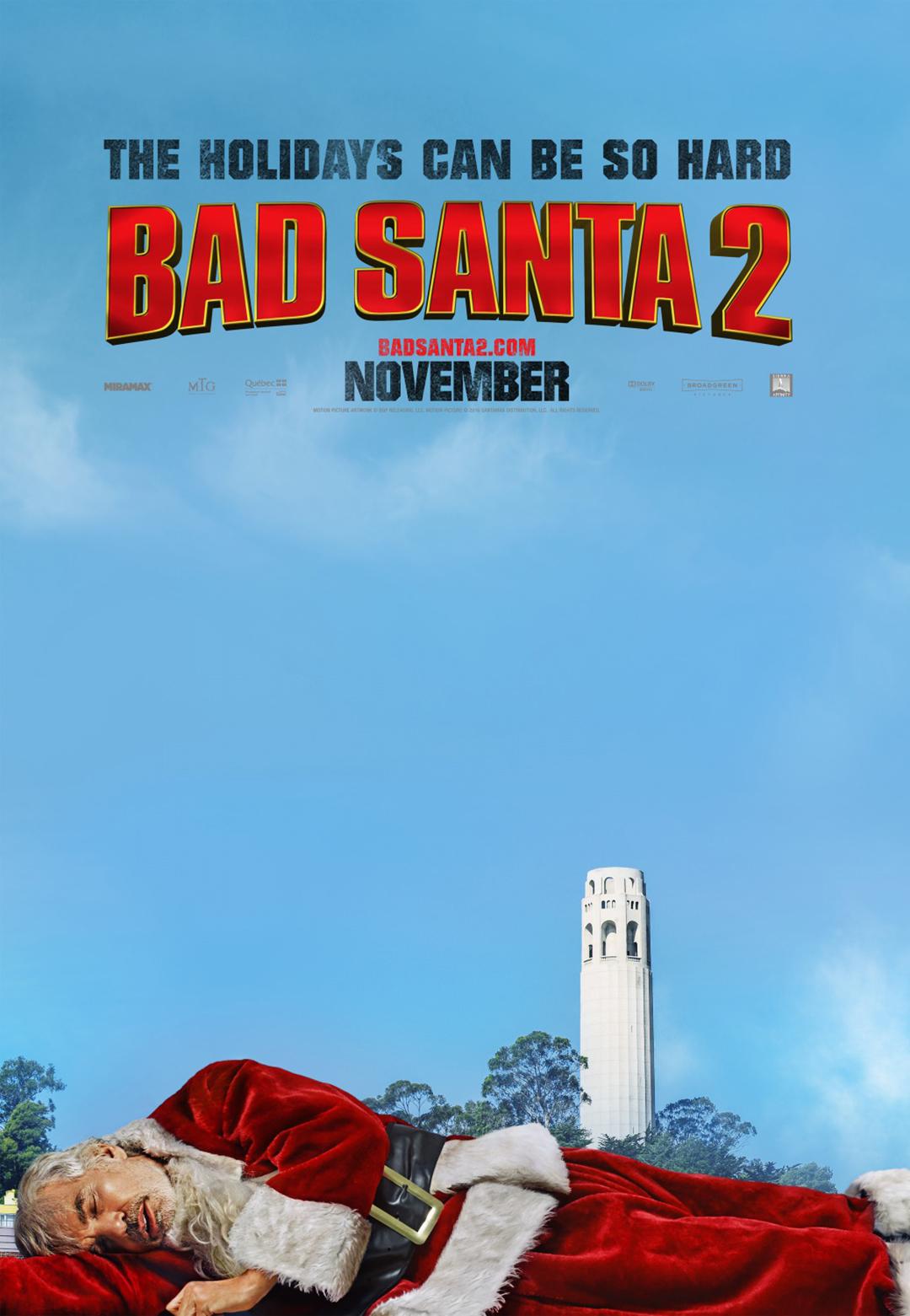 Bad Santa 2 Poster #3