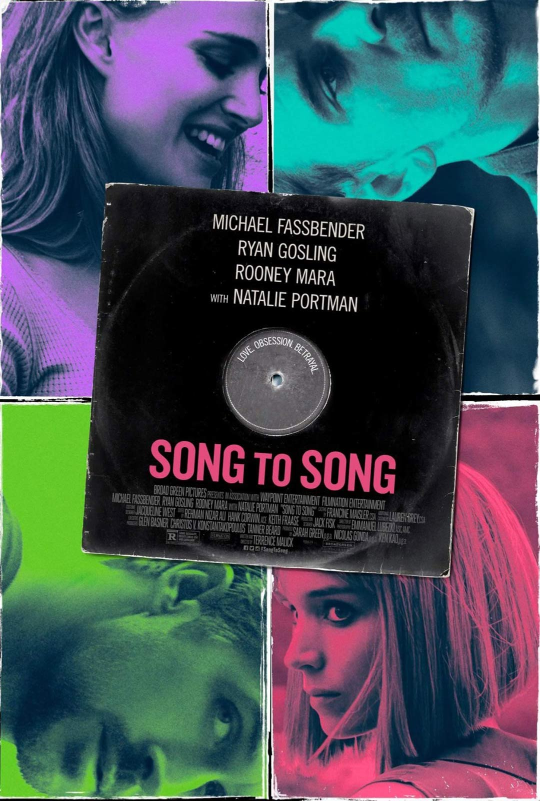 Song to Song Poster #1