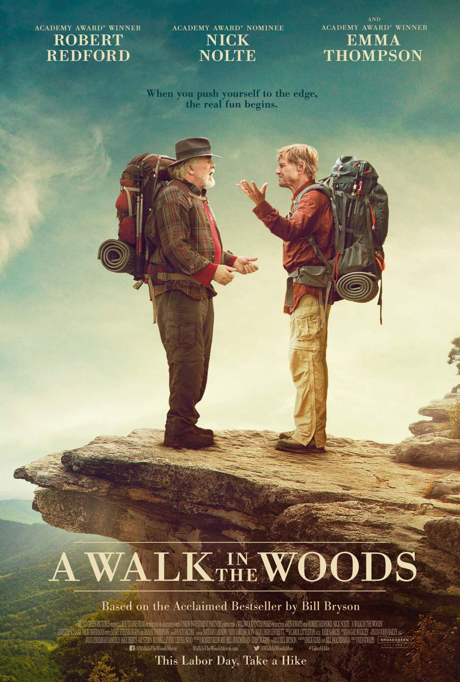 A Walk in the Woods Poster #1