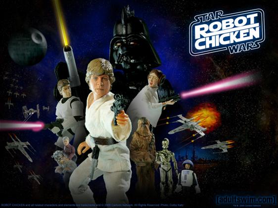 Robot Chicken: Star Wars Poster #1