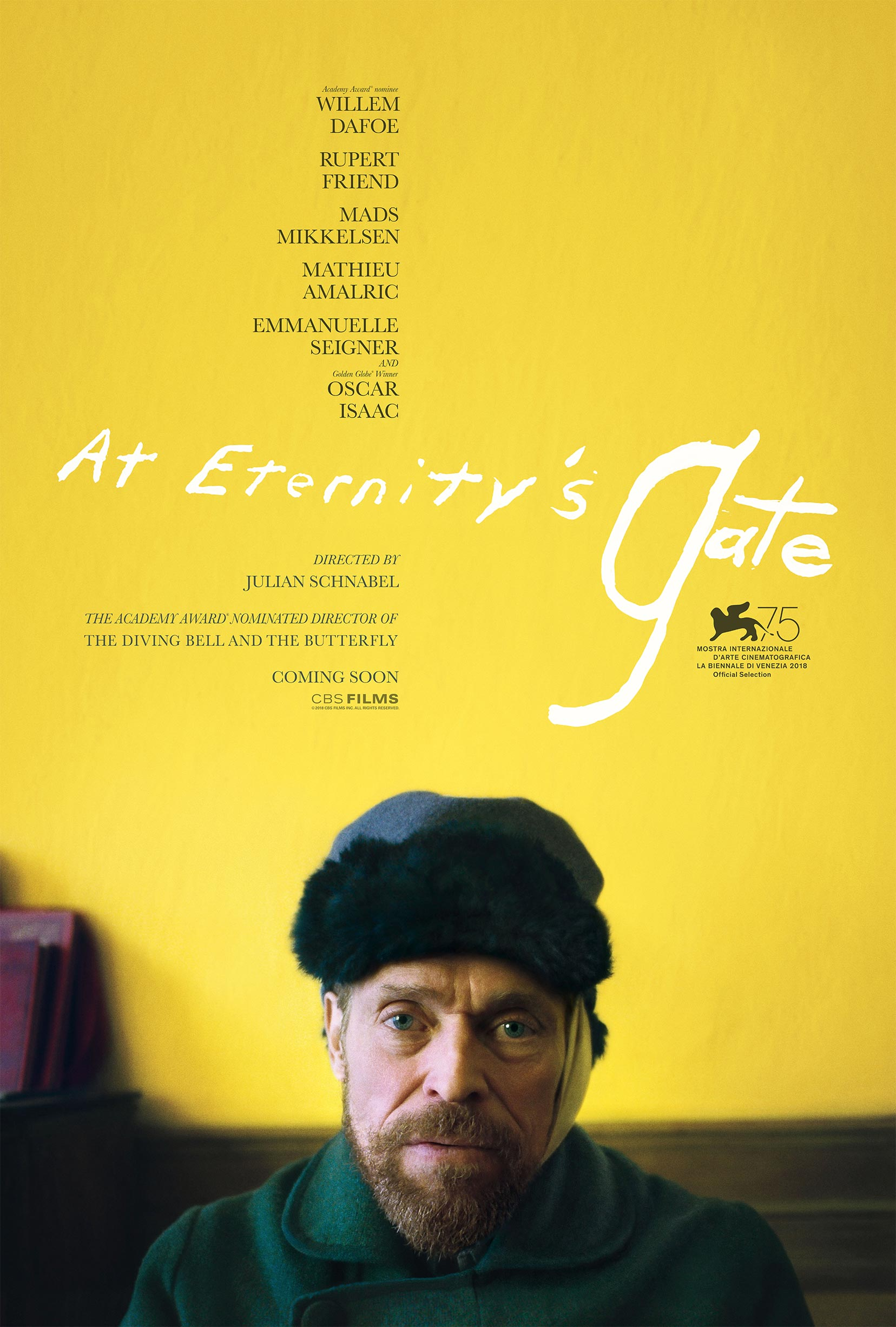 At Eternity's Gate Poster #1