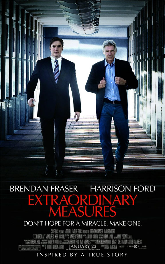 Extraordinary Measures Poster #2