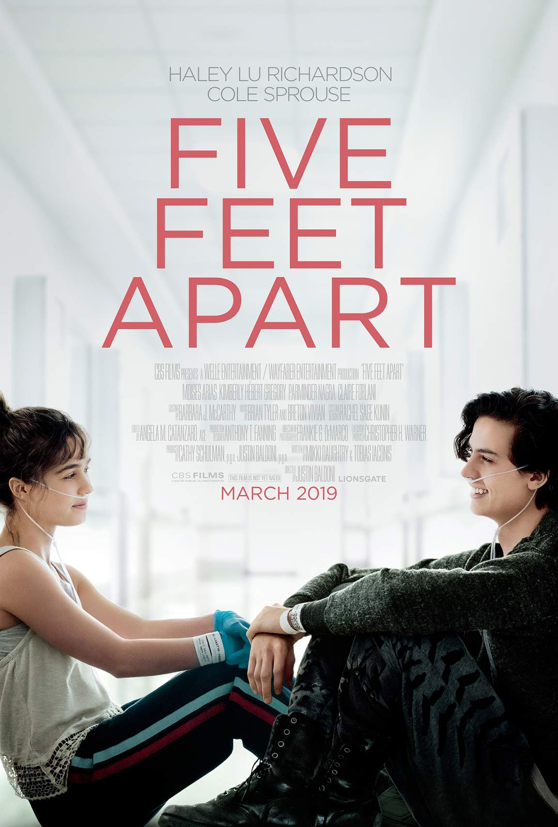 Five Feet Apart Poster #1