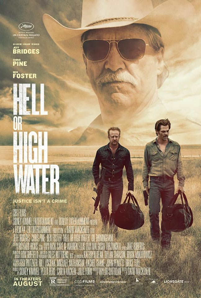 Hell or High Water Poster #1