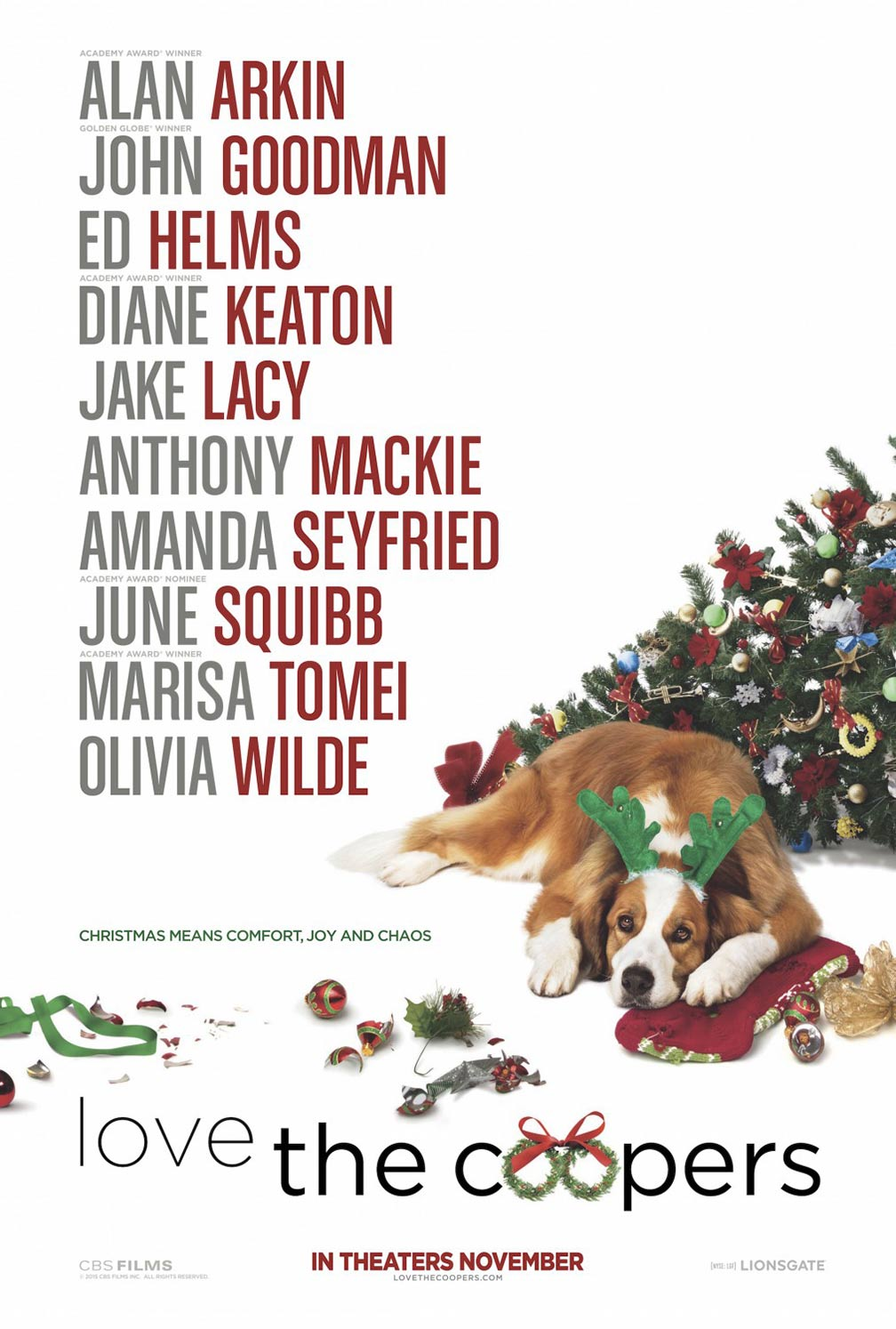 Love the Coopers Poster #1