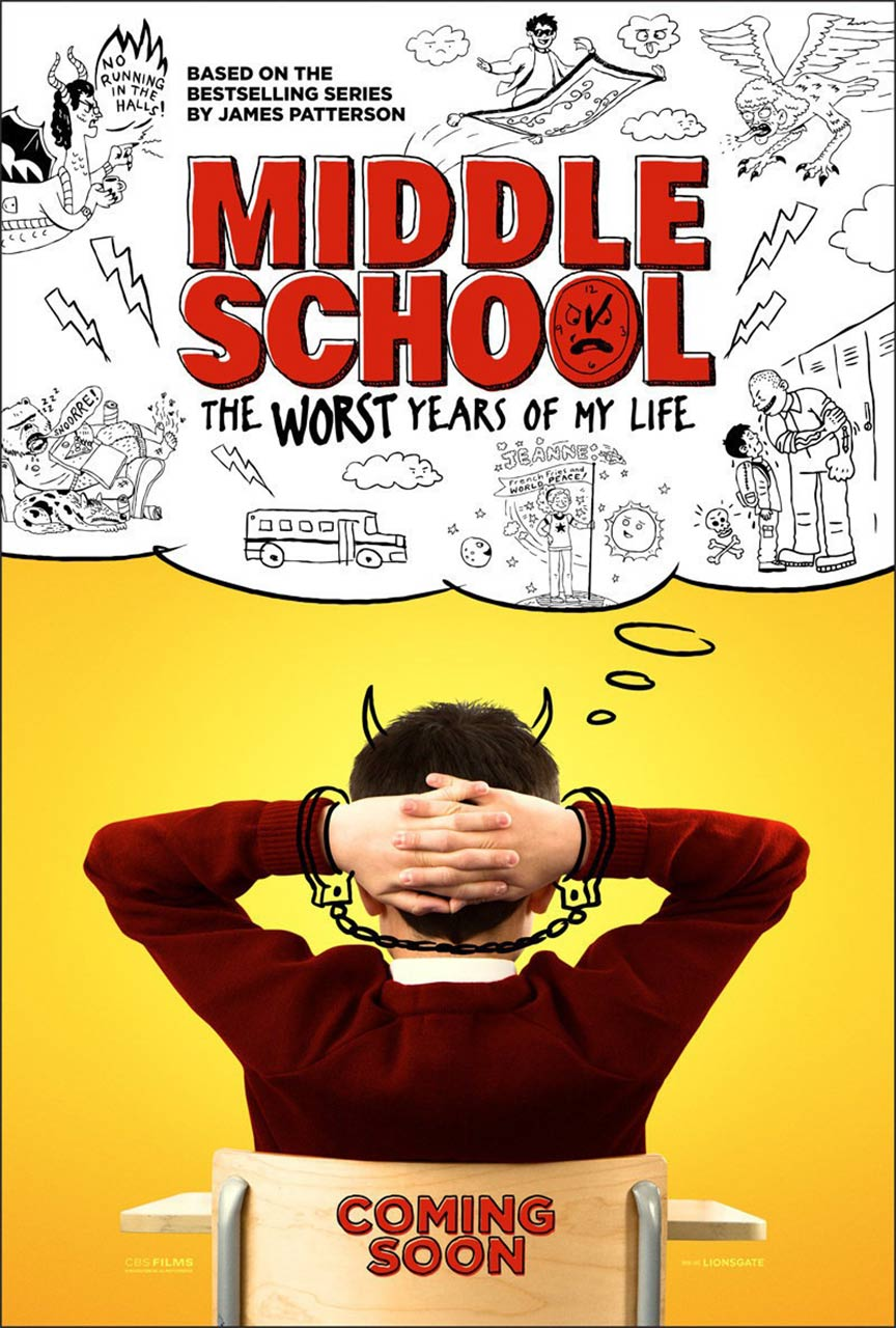 Middle School: The Worst Years of My Life Poster #3
