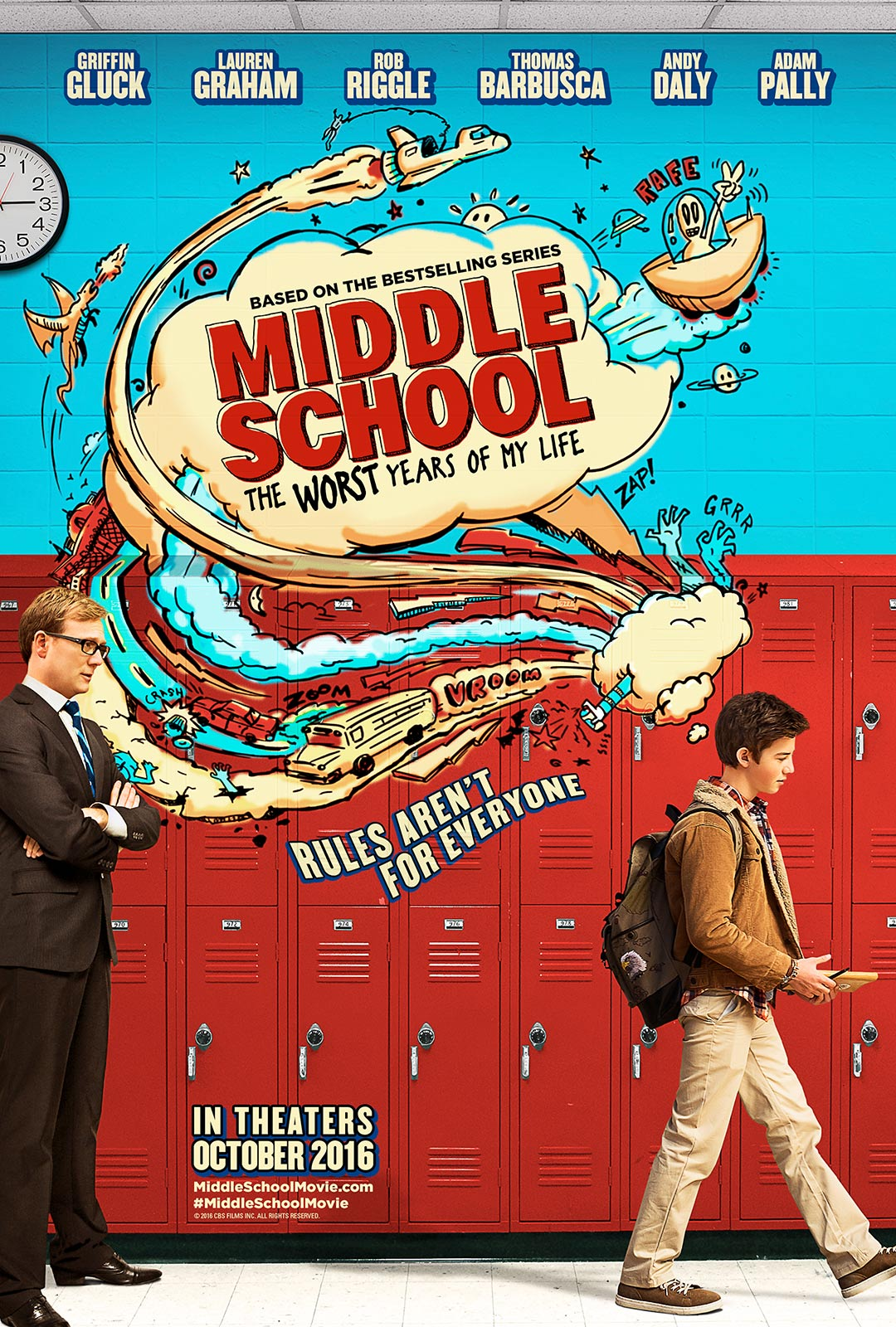 Middle School: The Worst Years of My Life Poster #1