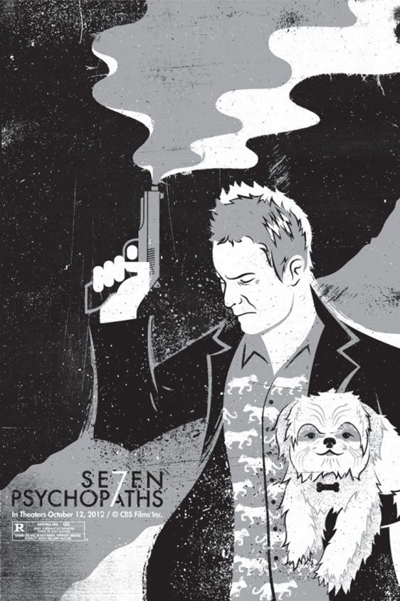 Seven Psychopaths Poster #15