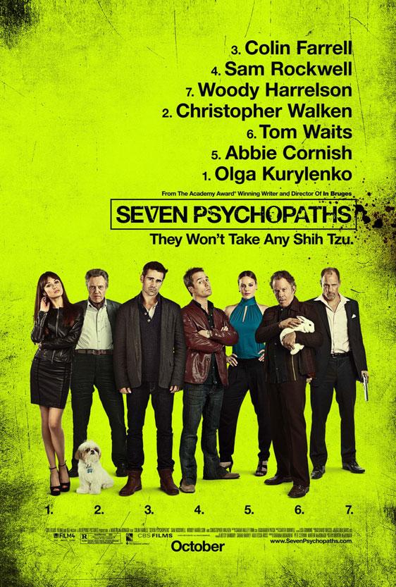 Seven Psychopaths Poster #1
