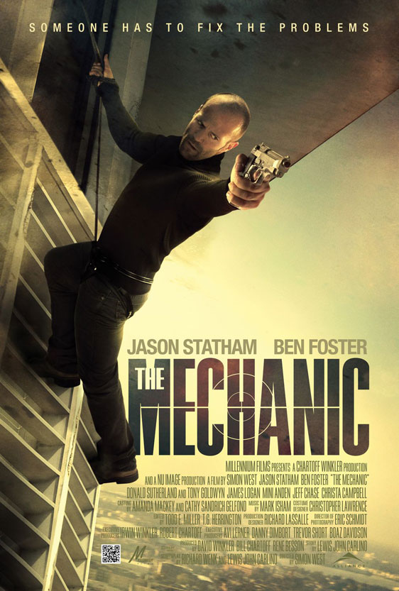 The Mechanic Poster #3