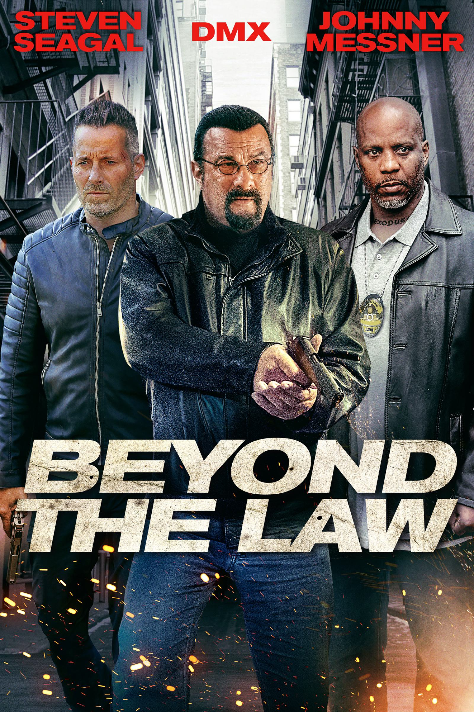Beyond the Law Poster #1
