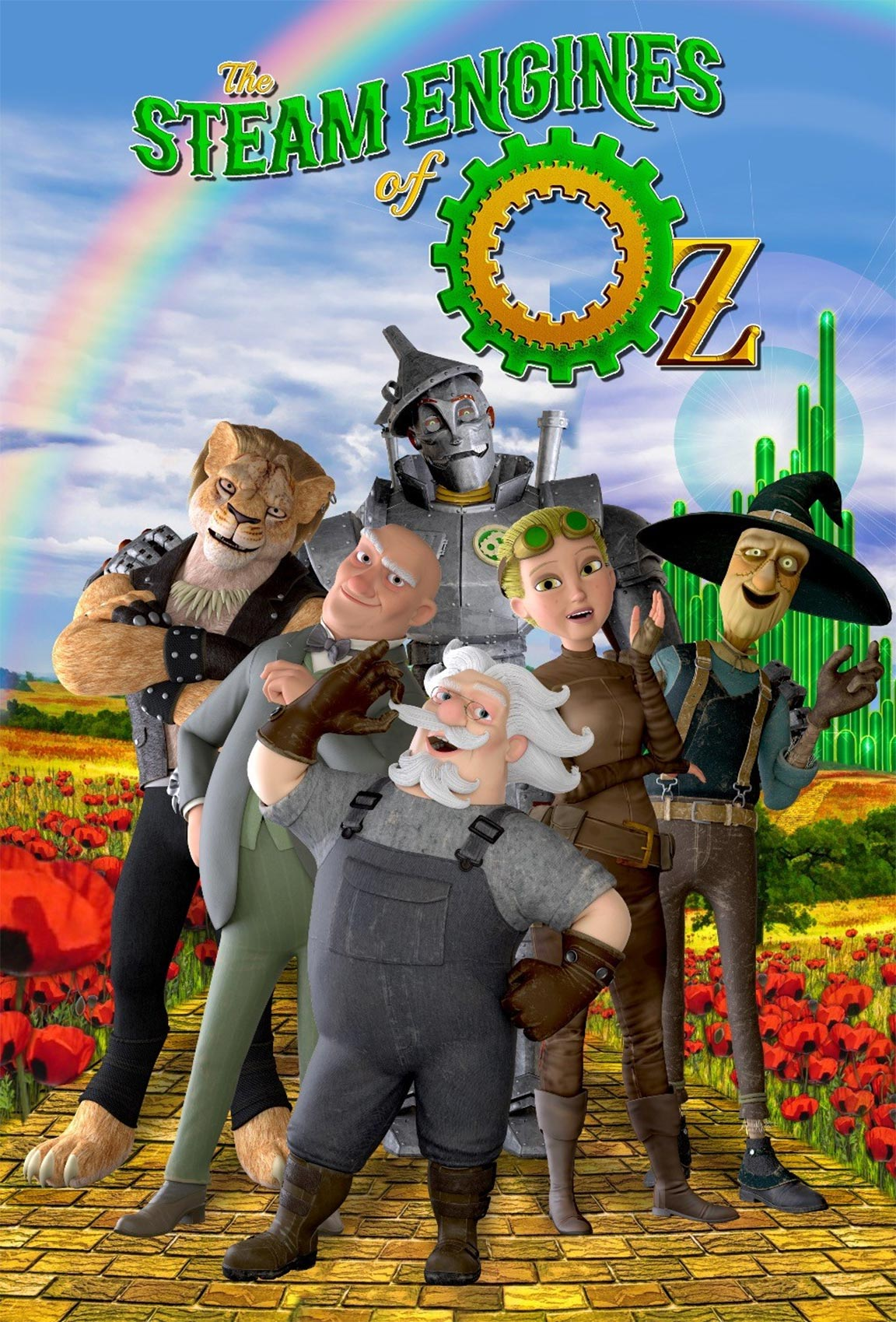 The Steam Engines of Oz Poster #1