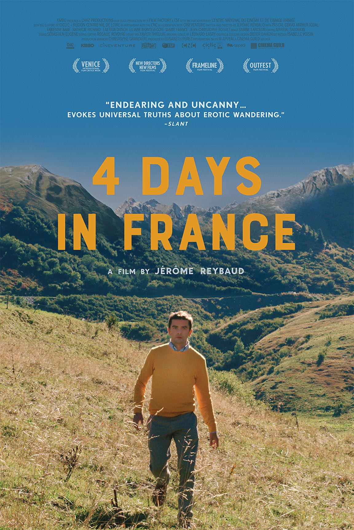 4 Days in France Poster #1