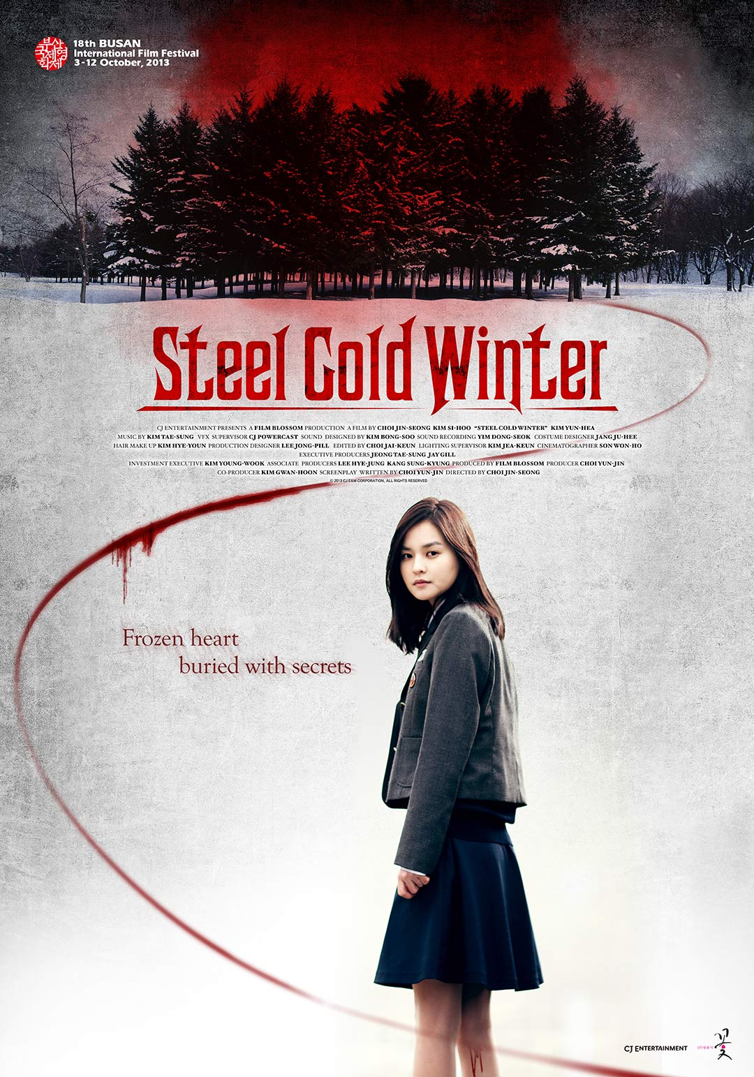 Steel Cold Winter Poster #1