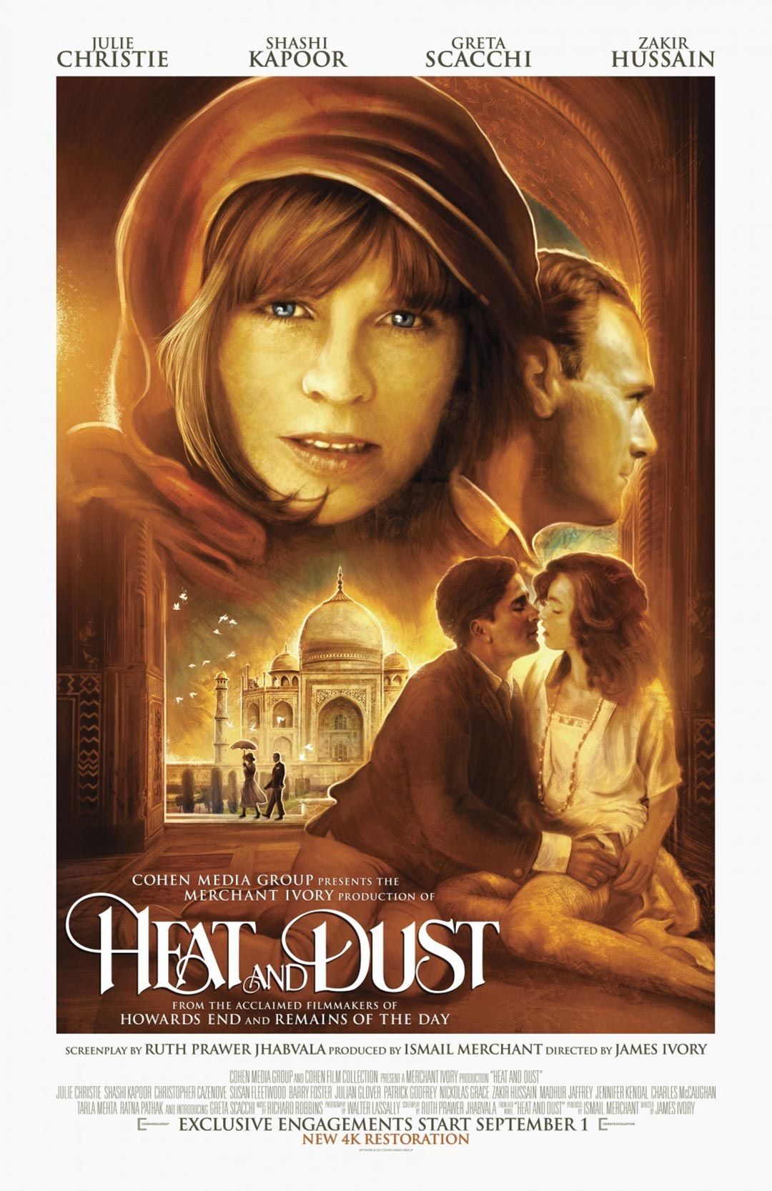 Heat and Dust Poster #1