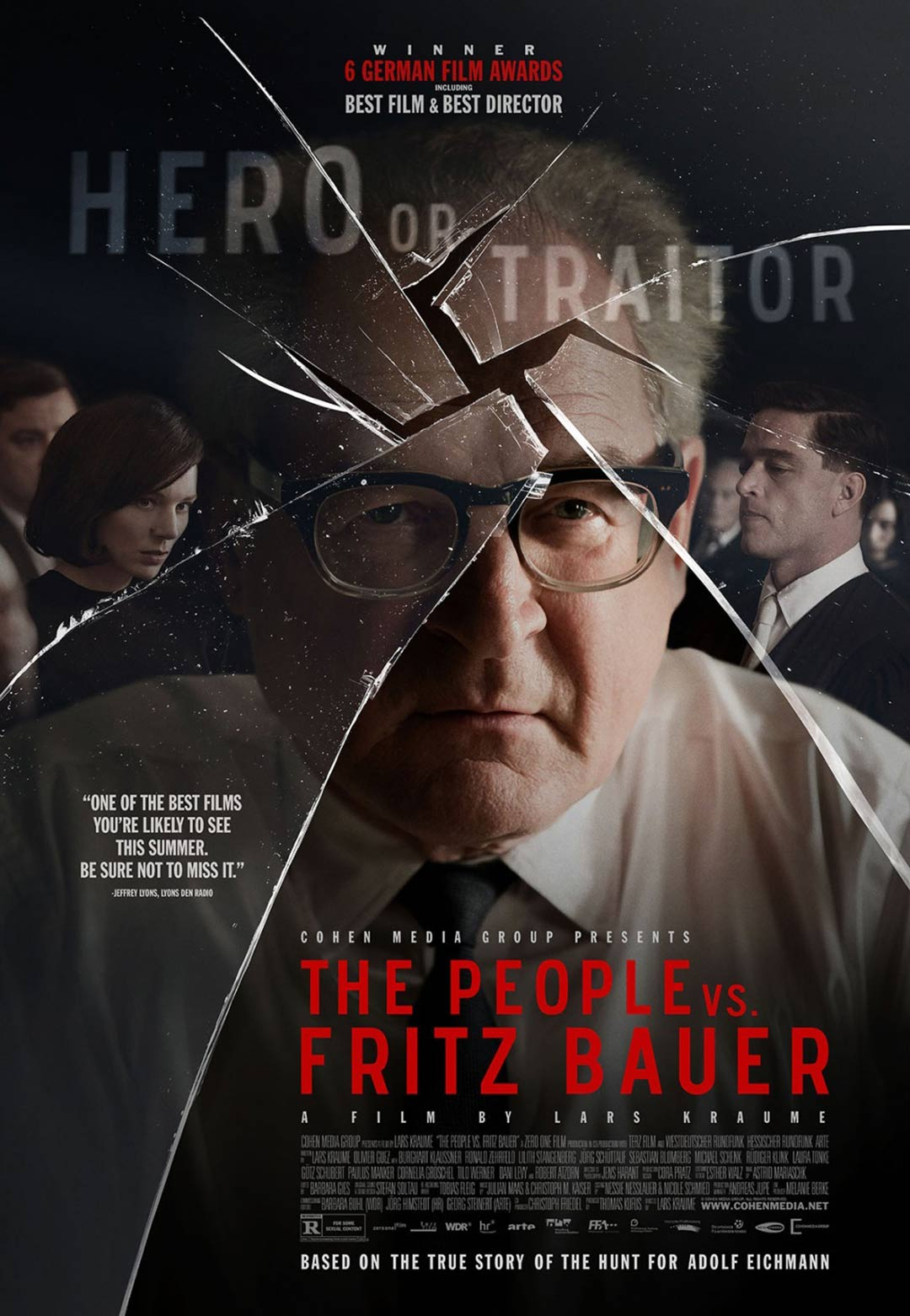 The People vs. Fritz Bauer Poster #1