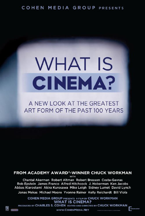 What Is Cinema? Poster #1