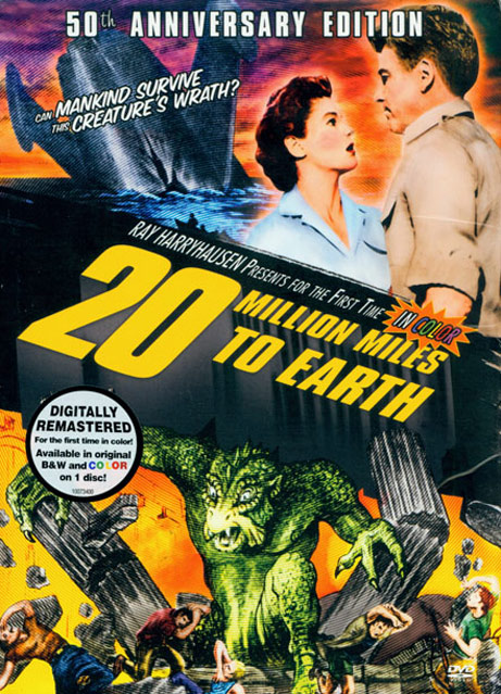 20 Million Miles to Earth Poster #1