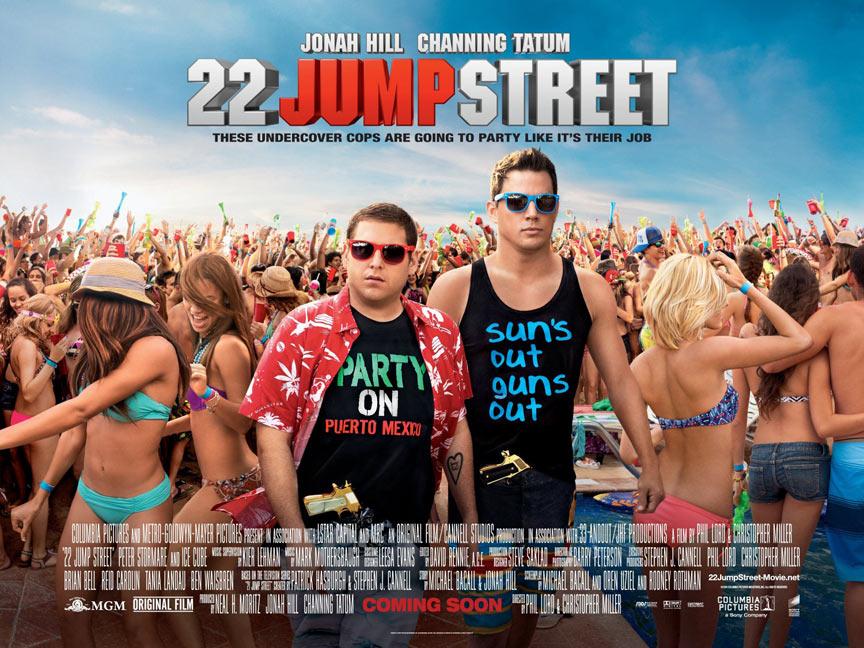 22 Jump Street Poster #3