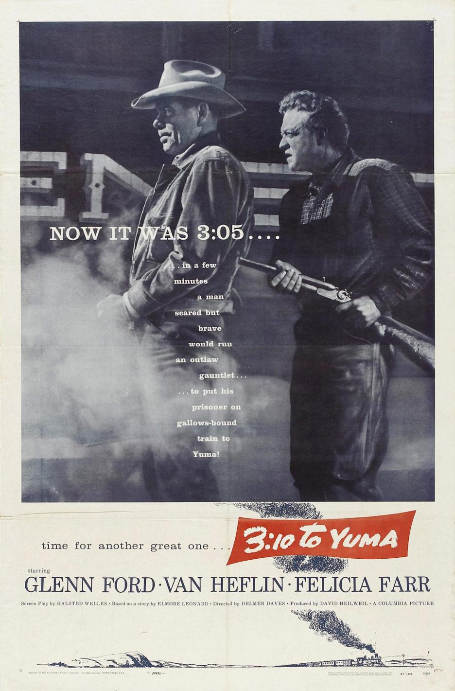 3:10 to Yuma Poster #1