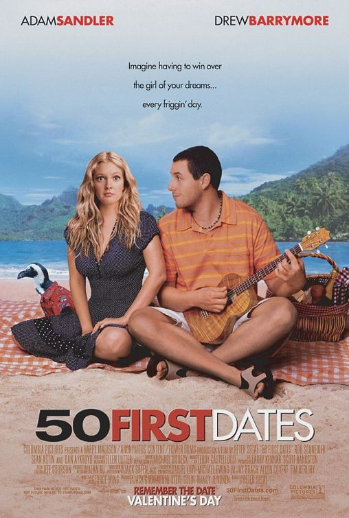 50 First Dates Poster #1